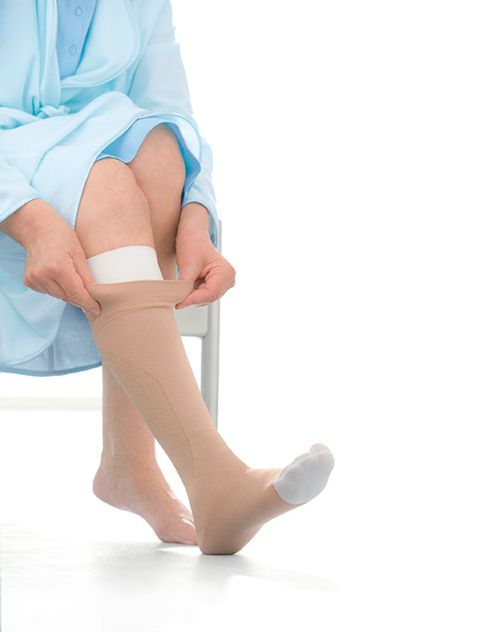 Jobst Medical Legwear Ulcercare 1 Stocking 1 Liner Compression 30-40mmhg Compression Garments Health & Beauty